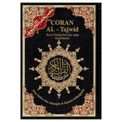 Coran Al-Tajwid grand format arabe/français
