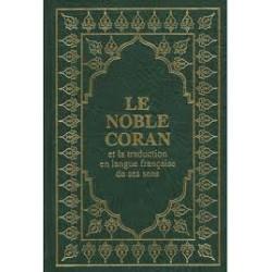 Coran arabe/francais couverture souple