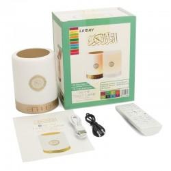 Veilleuse Coranique (Coran, Boukharî, Muslim, Hadîth, Dua, Tafsîr, FM, MP3, Bluetooth, ...) - Equantu SQ-112