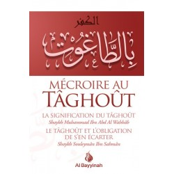 MECROIRE AU TAGHOUT -MOHAMED IBN ABDIL WAHAB- SOULEYMAN IBN SALMAN
